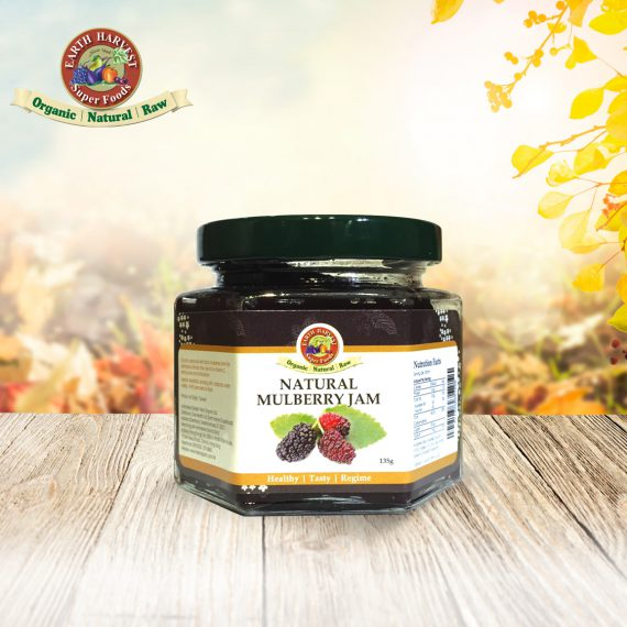 Earth Harvest Superfoods天然桑椹果醬 Natural Mulberry Jam